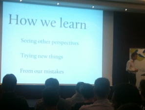 How we learn - David Evans