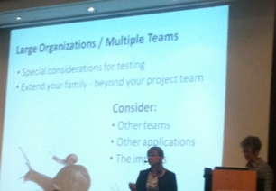 Key challenges : Multiple Teams